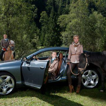 """Werbefotografie Mode im Luxushotel """"Das Kronthaler"""" Tirol"""