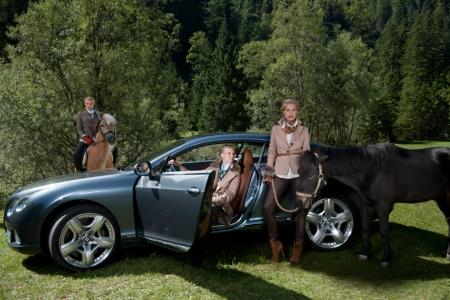 Werbefotografie Bentley Mode Pferde