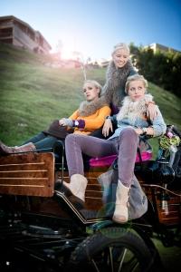 Werbefotografie Mode Kutsche