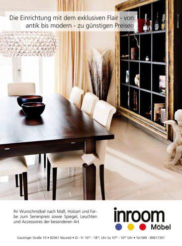 Eine Anzeige für ein Möbelhaus. Hier habe ich ein HDR Foto gemacht. Ansonsten wäre der Dynamikumfang zu hoch gewesen.