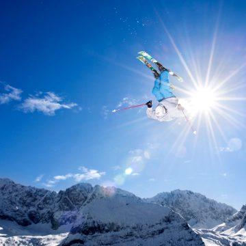 Skistunts – Zugspitze