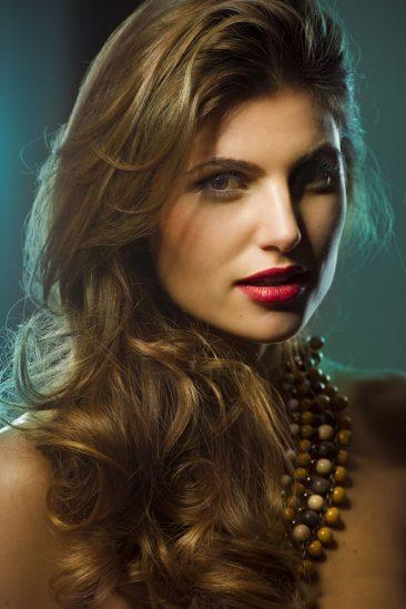 Fotograf Starnberg - Ein Beautyshot von Model Laskarina in Dijon