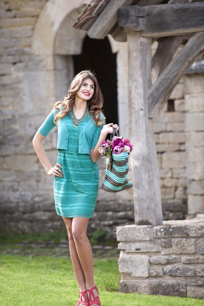 Modefotos Produktion Outdoor am Kloster