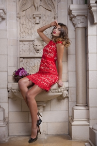 Modefotos Luxushotel bei Dijon