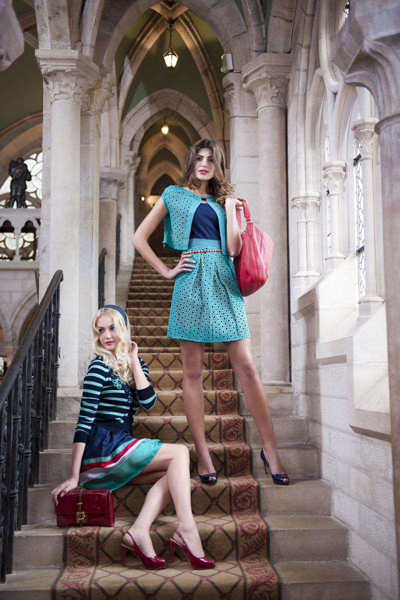 Modefotos Eingangshalle Kloster - Luxushotel Abbaye de la Bussiere
