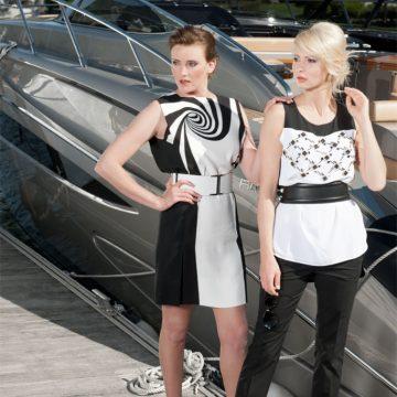 Produktion von Modefotos im Eden Roc Ascona