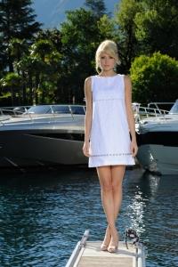 Produktion Modefotos Luxusyacht Sommerkollektion