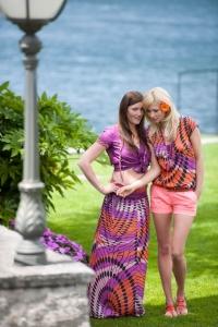Produktion Modefotos Sommer am Lago di Maggiore