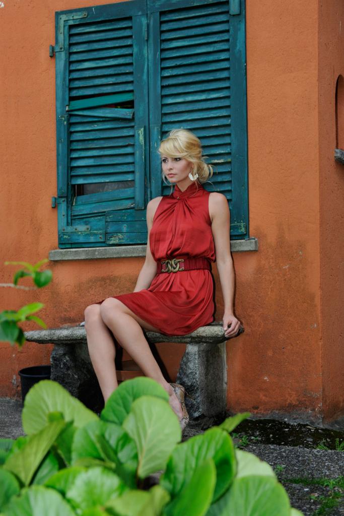 Produktion Modefotos Sommerkollektion Sportmax