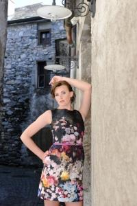 Produktion Modefotos Altstadt Ascona