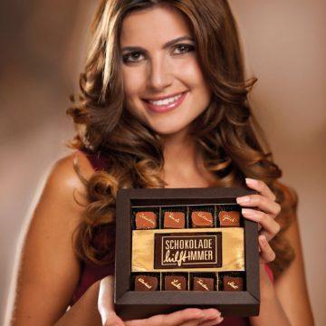 Katalogproduktion Schokolade hilft immer