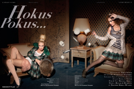 Modeaufnahmen High Fashion Hexen
