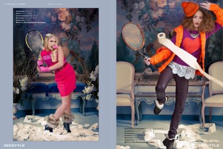 Modeaufnahmen High Fashion sportiv