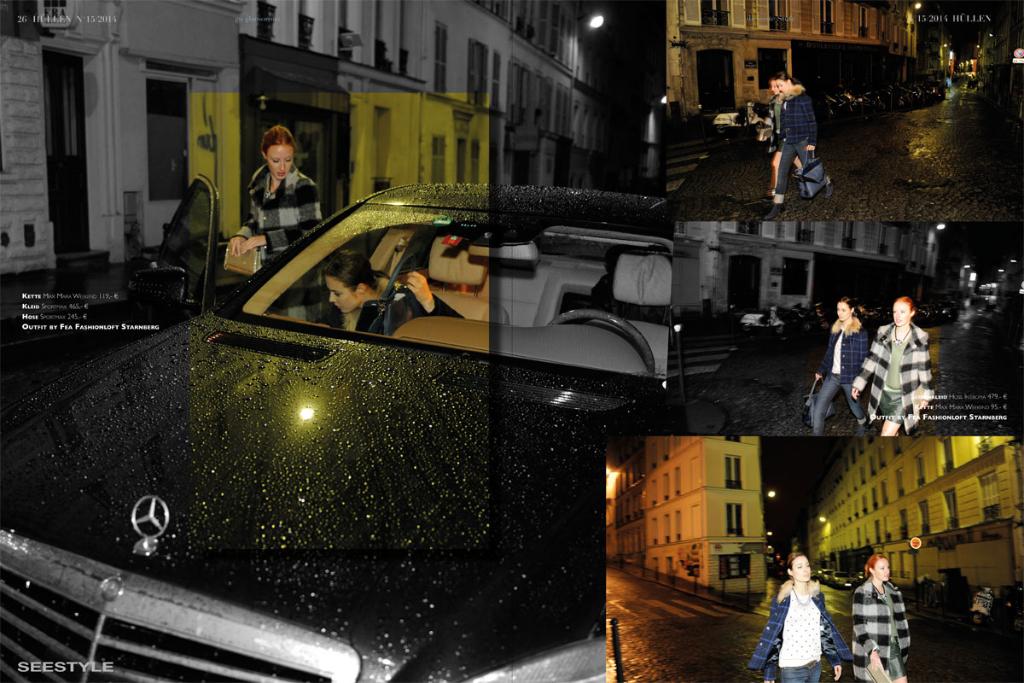 Montmatre - atmosphärisches Fashioneditorial im berühmten Künstlerviertel von Paris