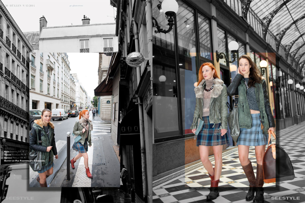 "Fashioneditorial in der ""Passage de Princes"" Paris"