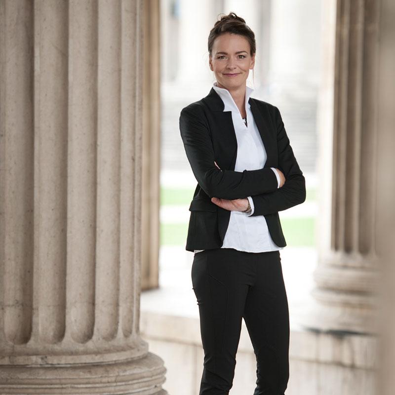 Businessporträt Edna Gerold - Fachanwältin Starnberg
