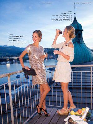 Perfekte Lifestylefotografien brauchen atmosphärisches Licht - Abendstimmung in Luzern